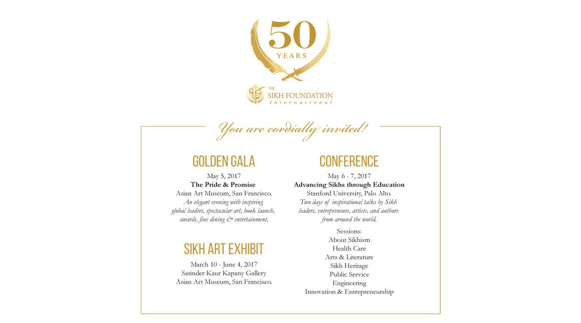 50 Years Sikh Foundation - Gala