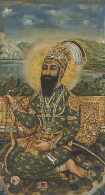 Large Portrait of Guru Gobind Singh-Ji