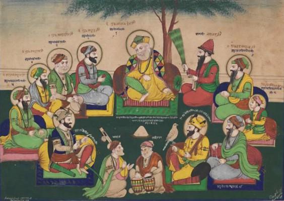 The_Ten_Sikh_Gurus