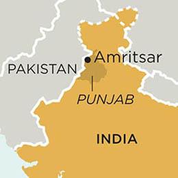 India Punjab Map