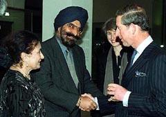 Dr. Narinder S. Kapany, and his wife Satinder