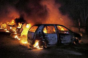 Rioting in Punjab