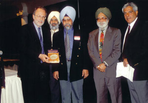 The release of my first book The Guru Granth Sahib by Congressman David E. Bonior in Michigan in 2000