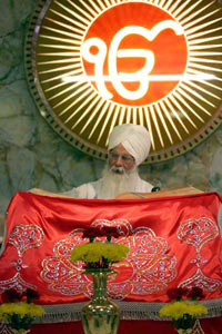 Reading the Guru Granth Sahib