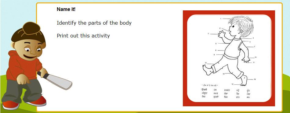 punjabi-activity-sheet-body-parts