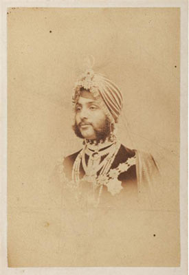 Photgraph of Sikh Maharaja Duleep Singh