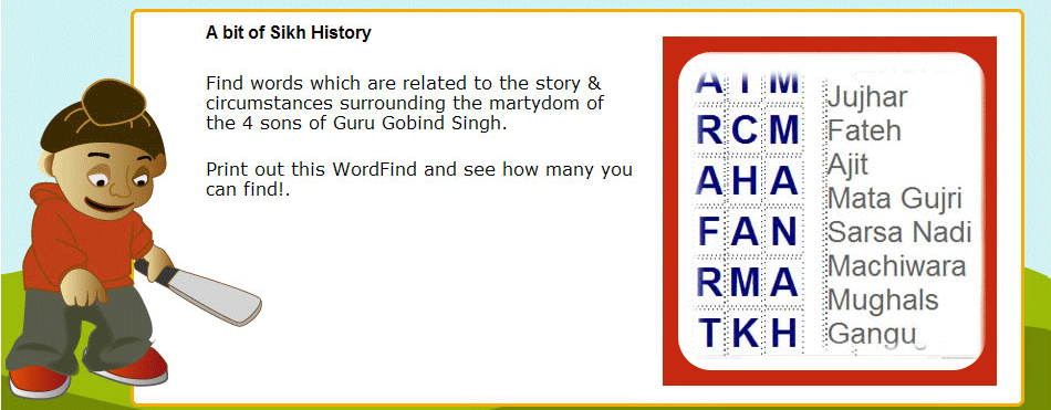 wordfind-sikh-history