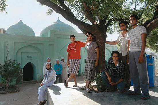 Not mere mortar and bricks Students of Ajitwal village, near Moga, rebuilt the ancient masjid