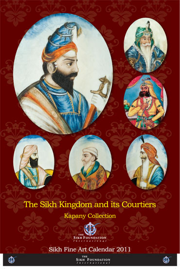 Sikh Fine Arts Calendar 2011 - Review by  Dr. I.J. Singh