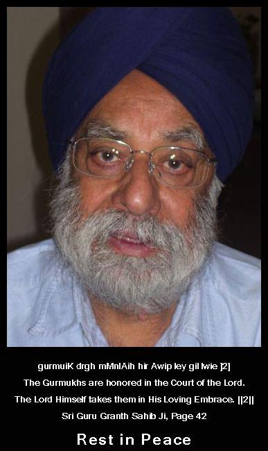 Dr. Atamjit Singh Ji
