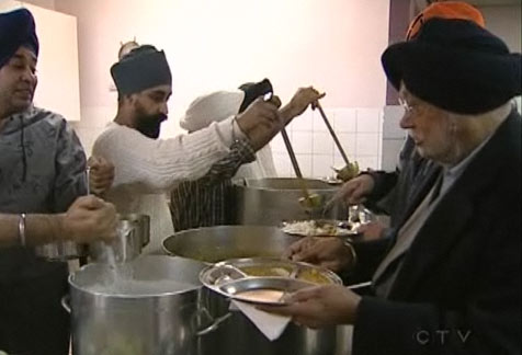 A long running tradition of the Sikh Community, helping people of all faiths.