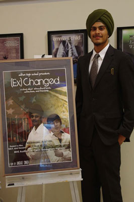 Angad Singh at Screening
