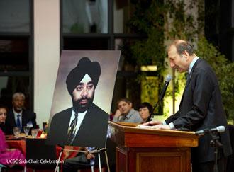 Professor George Blumenthal- Chancellor, UC Santa Cruz.