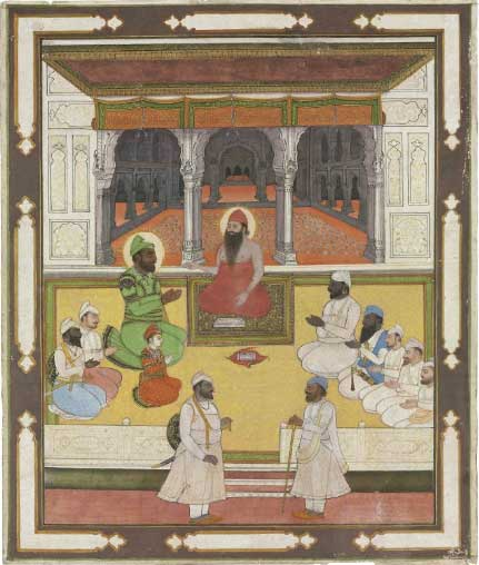 Sikh Art Watch - A SIKH DURBAR