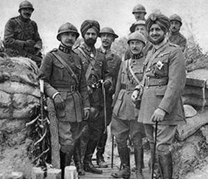 Lt. Gen. Bhupinder Singh Belgium April 1915