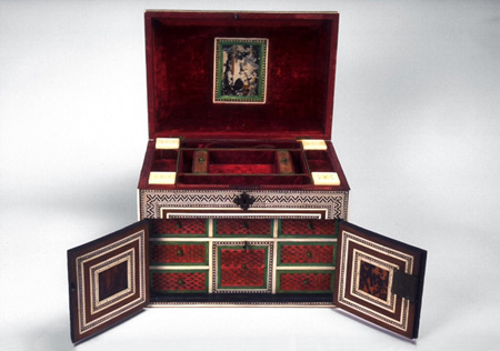 Decorated box owned by Maharaja Ranjit Singh