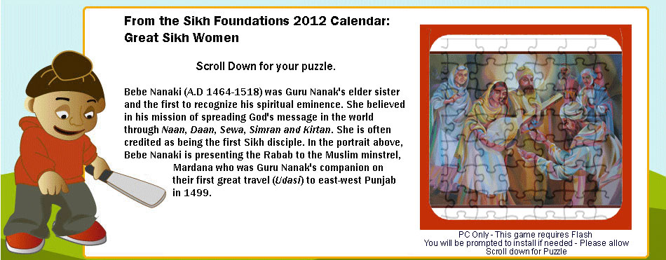 Puzzles-Great-Sikh-Women-bebe-nanaki