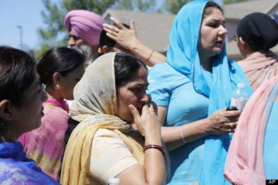 Sikh Gurdwara of Wisconsin Shooting Aug 5 2012