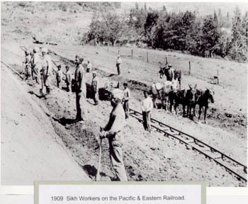 Sikh Workers - Pacific & Eastern Railroad