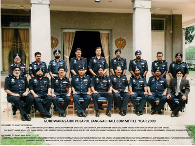 Gurdwara Sahib - Pulapol (Police Training Centre) Commitee Members