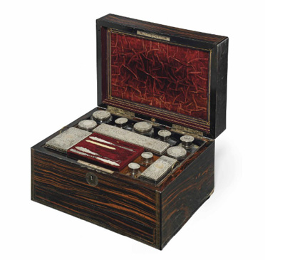 Sikh Art Watch - A dressing case belonging to Maharani Bamba Müller