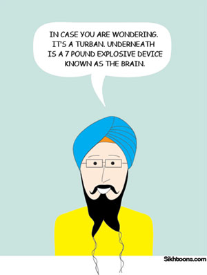 My life in a turban by Vishavjit Singh