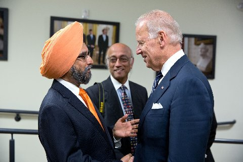 Sikhs join in the National Gun Control Debate in US and Meet with Biden