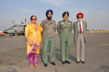 Father, Son Fly Together, Create Family History in IAF