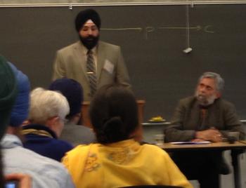Dr. Jugdep Singh Chima & Prof. Pritam Singh