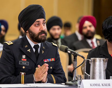 Army Major Urges Uniform Policy on Sikh Headgear, Beards