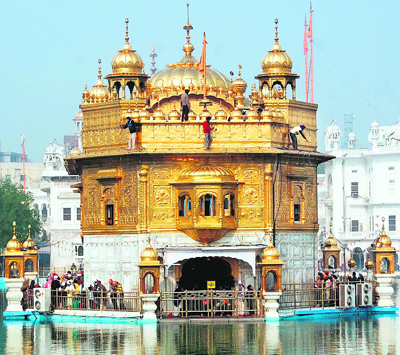 POLLUTION & GOLDEN TEMPLE