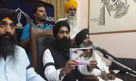 Desecration of Sikh Holy Bookn