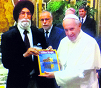 Sikh scholar speaks of Guru's peace message at Vatican