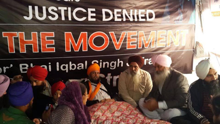 Another Sikh on hunger strike