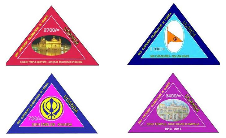 Uganda releases stamps on Sikhism