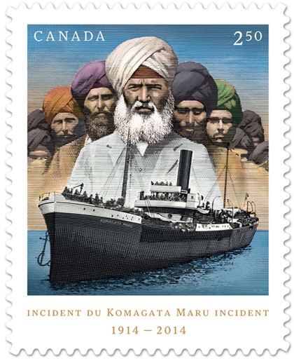 Komagata Maru Commemorative Stamp