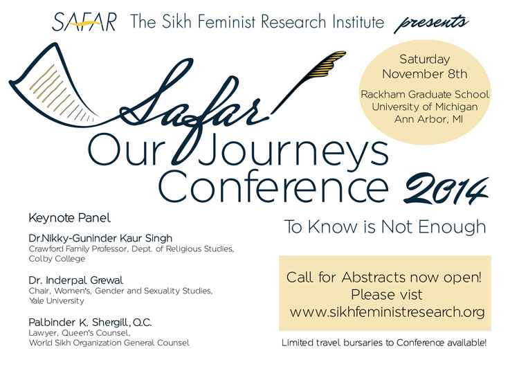 Safar - Our Journeys Conference 2014
