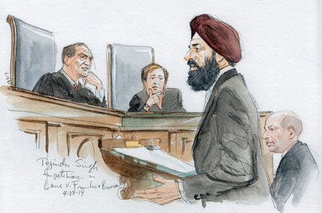 First turbaned Sikh to Argue before the Supreme Court