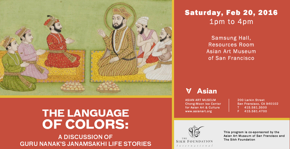 The Language of Colors: A Discussion of the Guru Nanak's Janamsakhi Life Stories