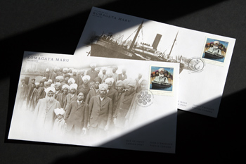Meet the Artist and Designer Behind Canada's New Komagata Maru Postage Stamp