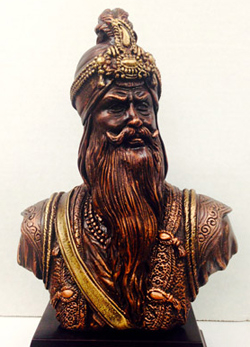 Sikh Sculpture: Father & Son