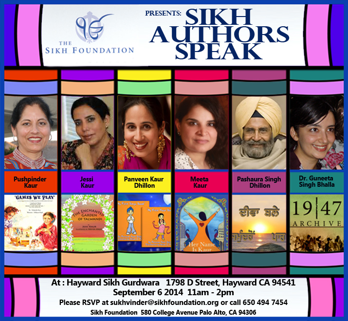 Sikh Authors Speak