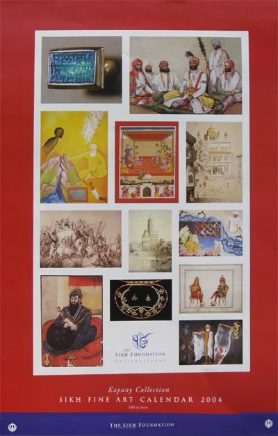 Calendar Fine Art : Sikh fine art calendar arts the