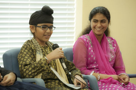 An Inspiring Afternoon with Young Sikh Artists