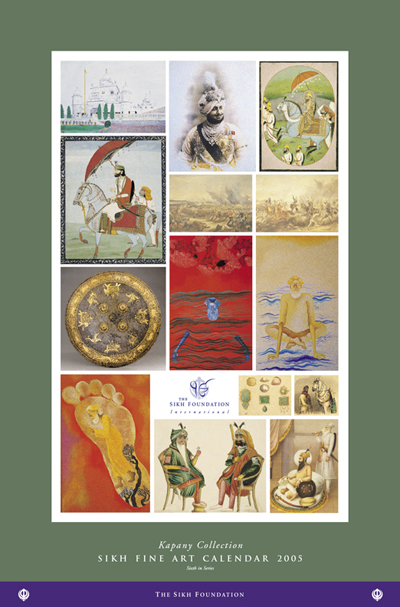 Calendar Fine Art : Sikh fine art calendar kapany collection