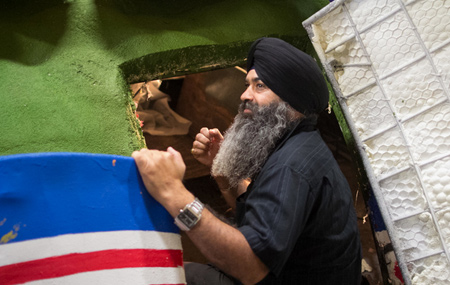 Sikh American Float in Rose Parade