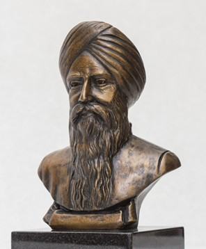 Gems of Punjab – Bhai Vir Singh Bust Bronze Sculpture