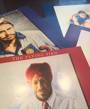 Sikhs n' Sports set of 10 posters