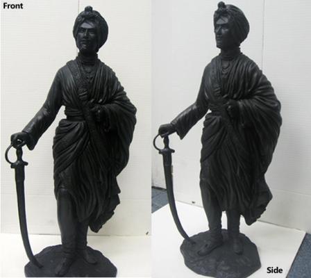 Maharaja-Dalip-Singh-Sculpture