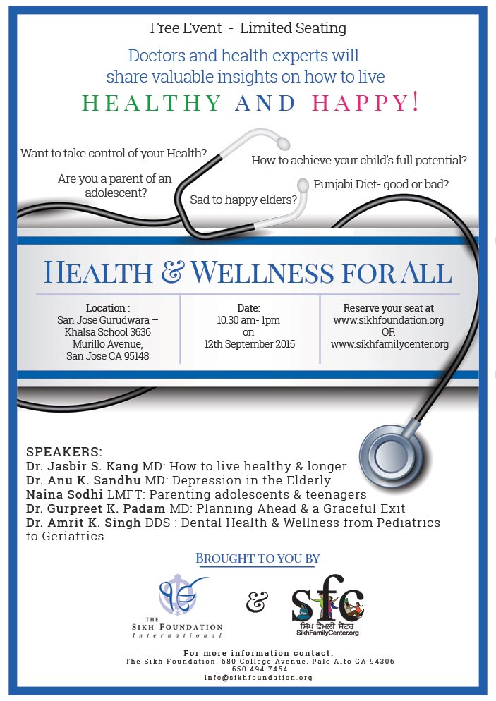 Health & Wellness for All A Free Family Event